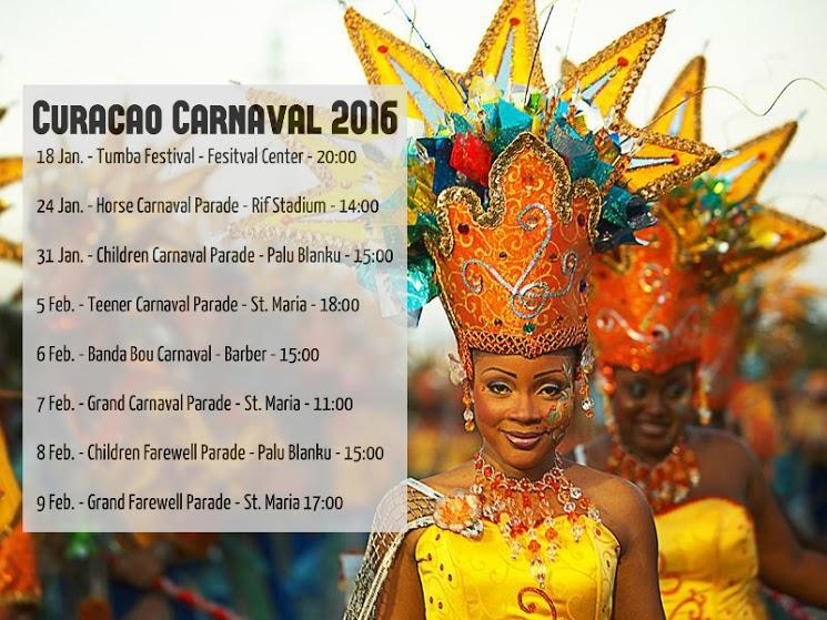 carnaval schedule 2016